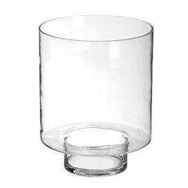 9101 Windlicht blankglas voor metalen sokkel/zuil/pilaar