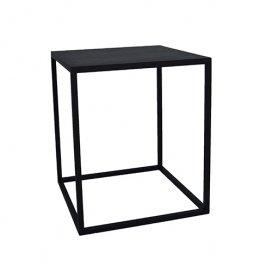 4004 Open sokkel structuur zwart