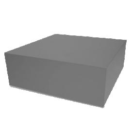 1710 Presso grijs mat