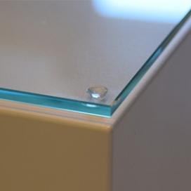 9001 Glasplaat voor sokkels/zuilen/pilaren