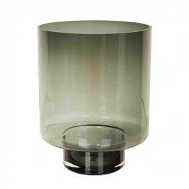 9102 Windlicht rookglas